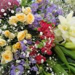 豪華な花束